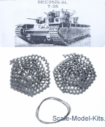SEC3528-SL Assembled metal tracks for T-35