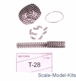 SEC3548-SL Assembled metal tracks for Soviet medium tank T-28