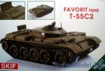 MK231 T-55C-2 'Favorit' Czech driver training tank