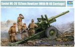 TR02324 Soviet 152mm howitzer ML-20 (With M-46 Carriage)