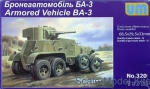 UM320 BA-3 Soviet armored vehicle
