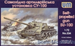 UM334 SU-100 Soviet self-propelled gun