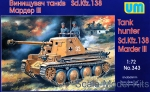 UM343 Marder III Sd.138 WWII German self-propelled gun