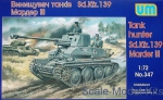 UM347 Marder III Sd.139 WWII German self-propelled gun