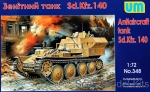 UM348 Sd.140 WWII German antiaircraft tank