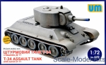 UM442 T-34 Assault tank with turret D-11