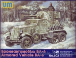 UM502 BA-6 Soviet armored vehicle
