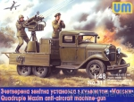 UM511 Quadruple Maxim AA MG on GAZ-AAA chassis