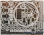 Vmodels35017 Photoetched set of details on an interior for 178 AMD-35 type 2 (ICM model kit)