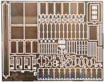 Vmodels35037 Photoetched set of details for ZiL-131 basket of truck (ICM)