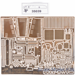 Vmodels35039 Photoetched detail set le,gl.Einheits-Pkw (Kfz,1)