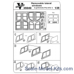 Vmodels35040 Photoetched set of details on the removable lateral windows Le.gl. Einheit (Kfz.1)