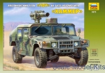 Artillery: Hummer with TOW, Zvezda, Scale 1:35