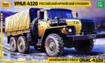 ZVE3654 Russian army truck Ural-4320