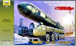 Artillery: SS-25 'Topol' ('Sickle') Russian missile system, Zvezda, Scale 1:72