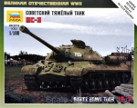 ZVE6194 Soviet heavy tank IS-3 (Snap fit)
