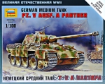 ZVE6196 German medium tank PZ. V Aust. A Panther