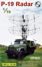 ZZ72004 P-19 Soviet radar vehicle resin/pe