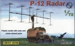 ZZ72005 P-12 Soviet radar vehicle, plastic/resin/pe